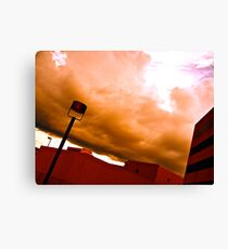Campus with Amazing Sky Canvas Print