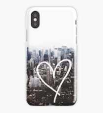 New York heart iPhone Case