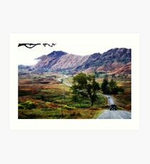 Long Ride Home Art Print