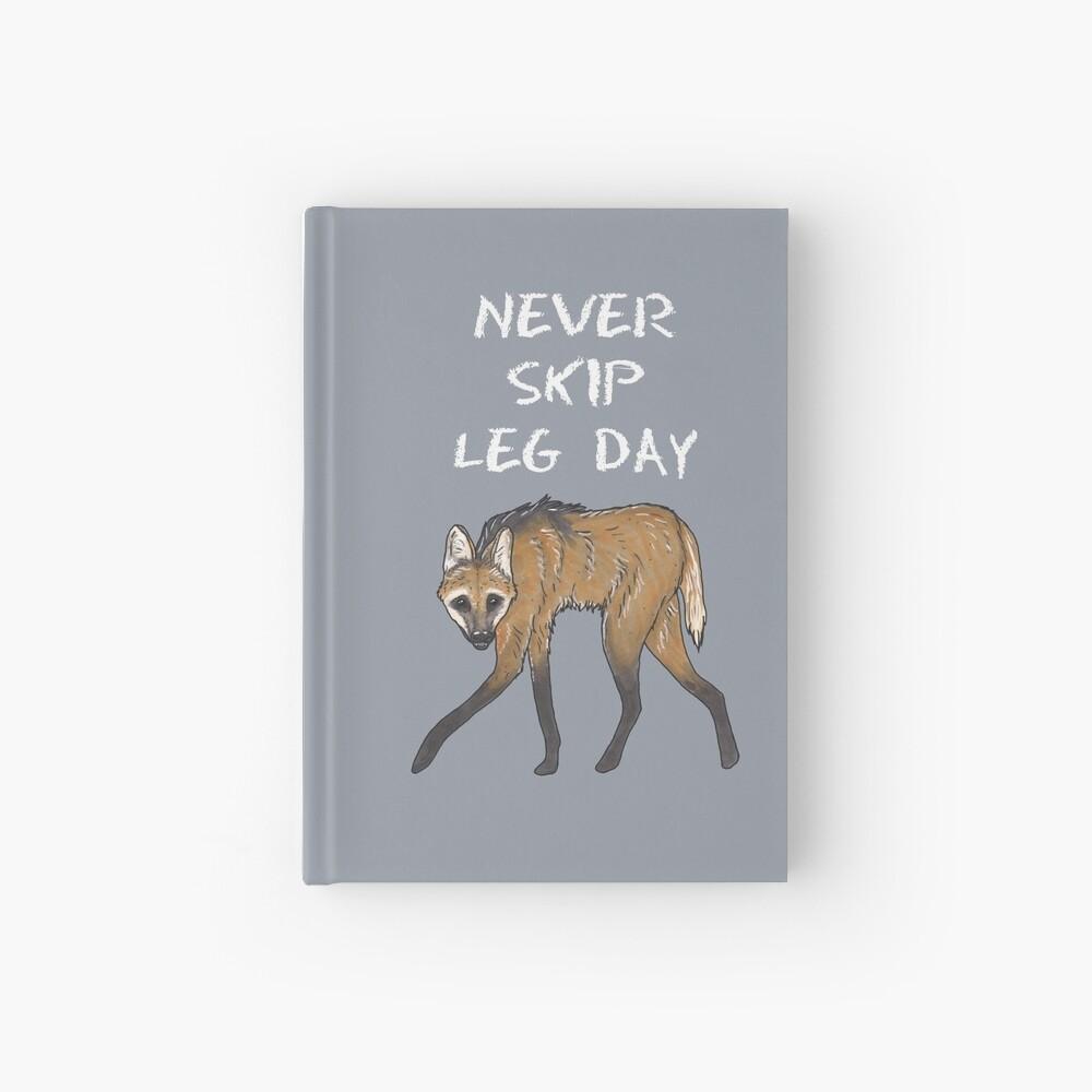 Maned wolf - Animal series Hardcover Journal