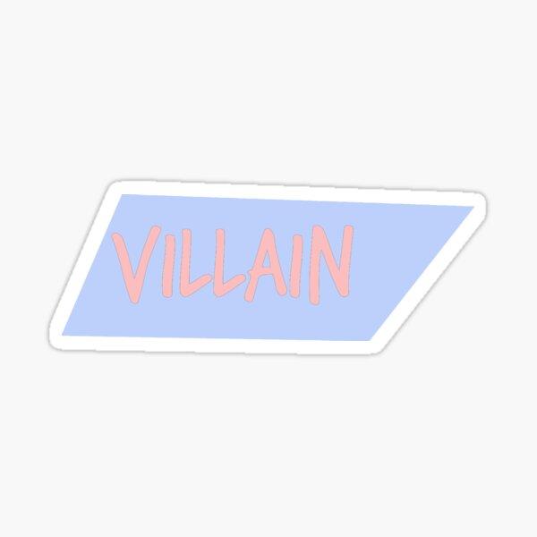 Bösewicht-Pastell-Reihe verdrehte Kasten # 2 Sticker