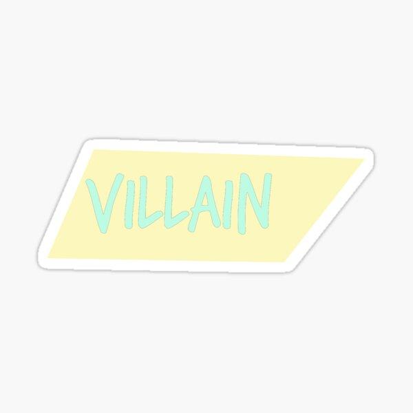 Bösewicht Pastell Serie verdreht Box # 3 Sticker