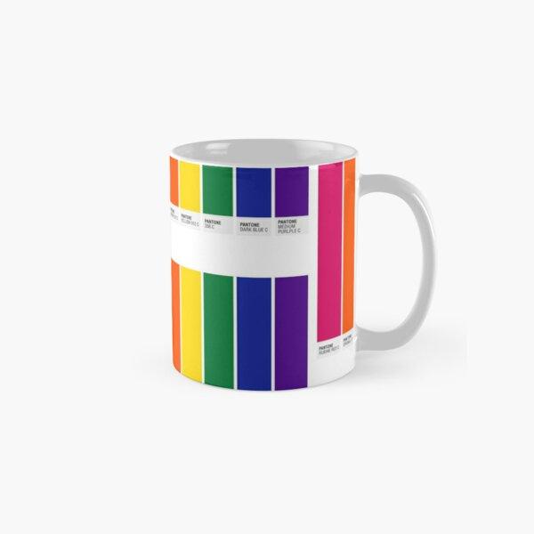 Pantone Pride Flag Classic Mug