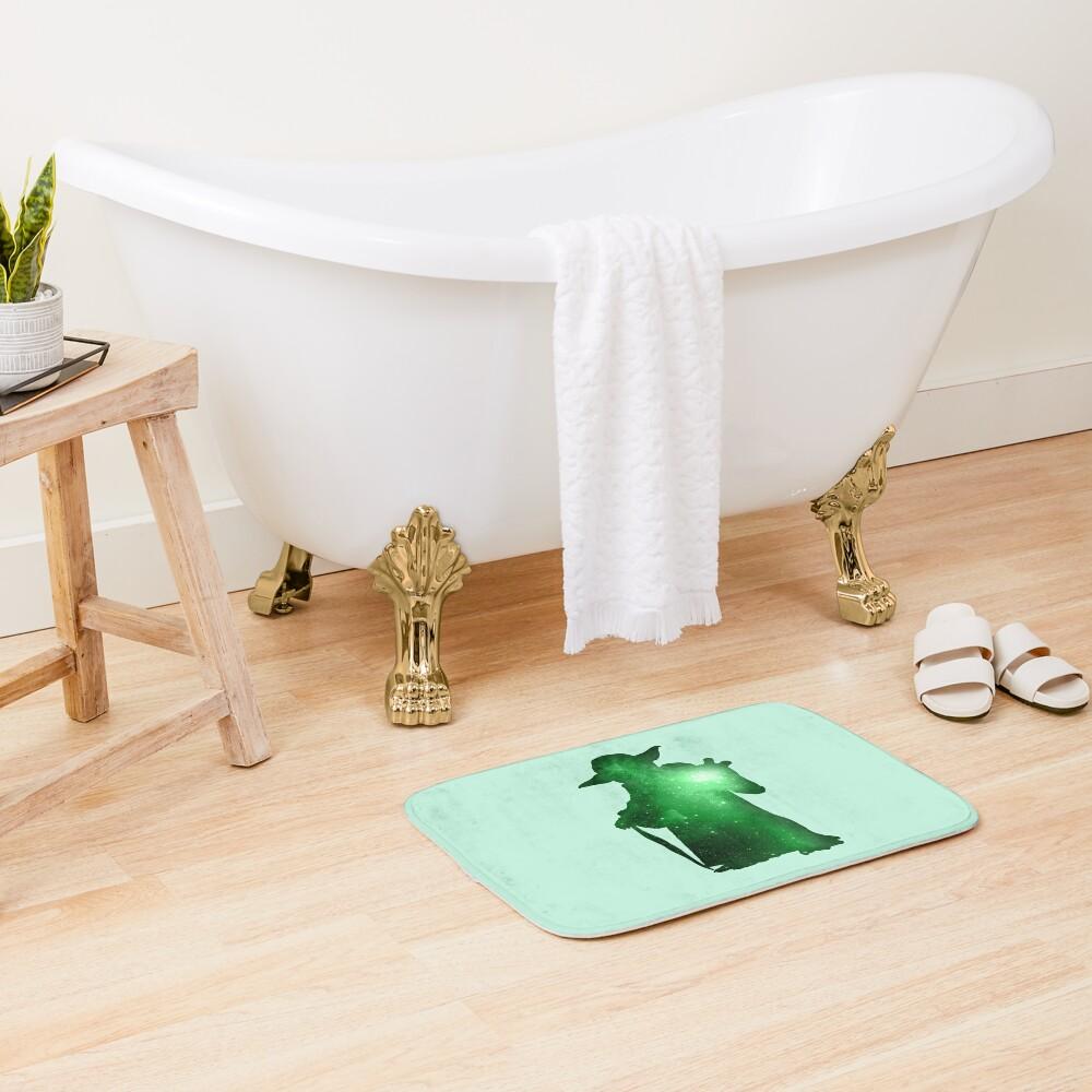 Little Green Master Bath Mat