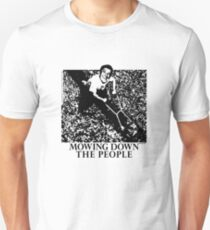 Mowing Down The People - Classic 80's Punk Unisex T-Shirt