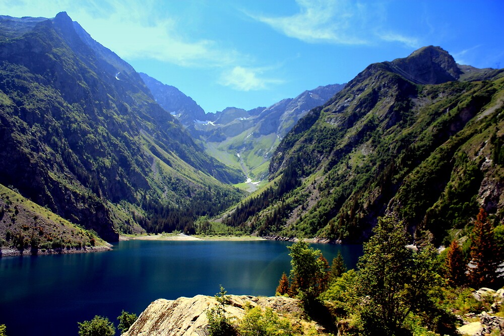 Quot Lac Lauvitel Ecrins National Park France Quot By Robert