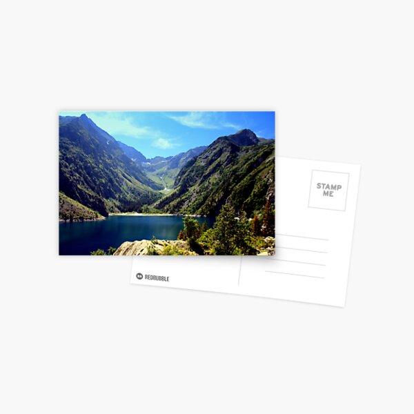 Lac Lauvitel, Ecrins National Park, France Postcard
