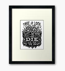 Metallica - For whom the bell tolls Framed Print
