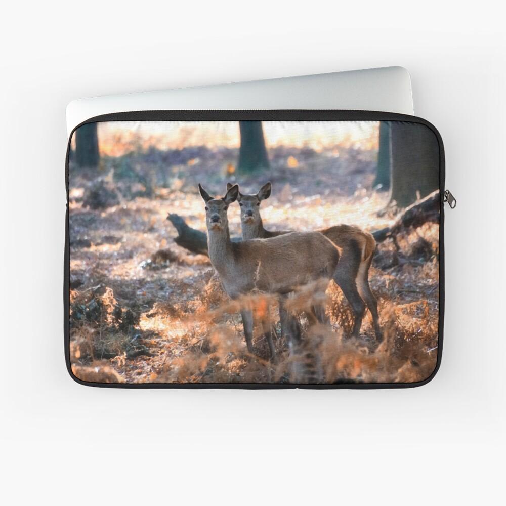 Double Deer Laptop Sleeve