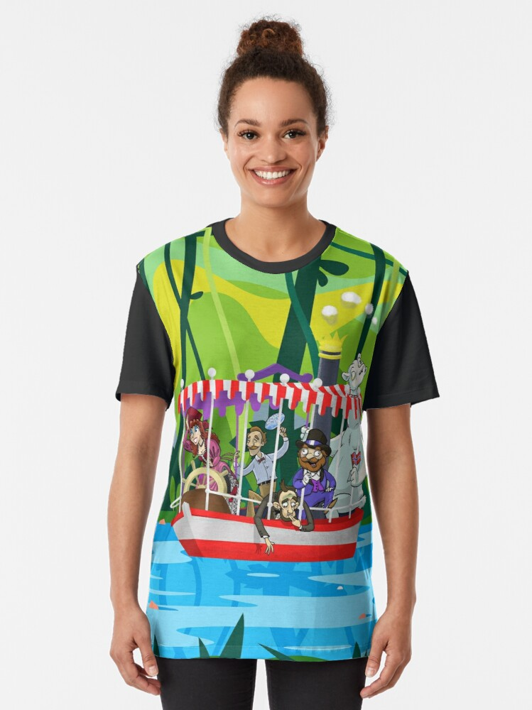 Alternate view of Animatronicans 2 Graphic T-Shirt