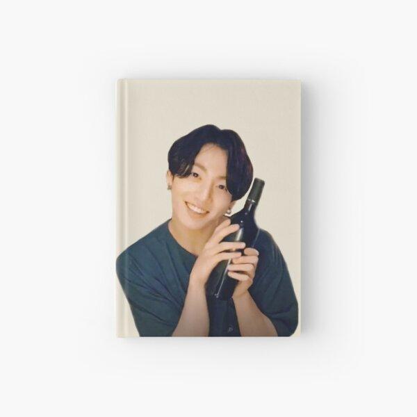 BTS JUNGKOOK WINE MEME Hardcover Journal