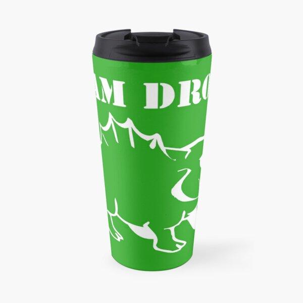 Team DROOP White Travel Mug