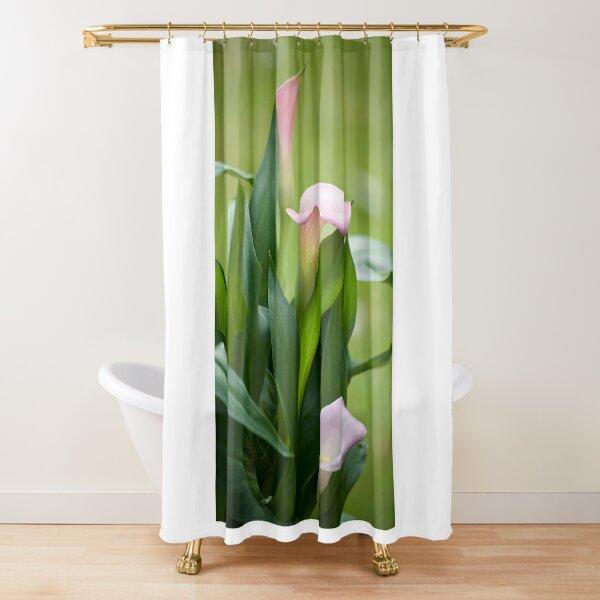 Lily Portrait Shower Curtain