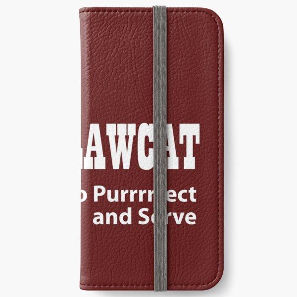 LawCat White iPhone Wallet