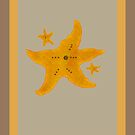 Star Fish All Occasion Card  by GrimalkinStudio