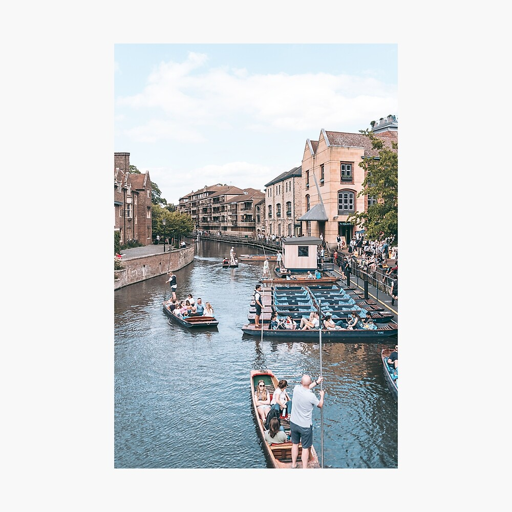 RIVER CAM, CAMBRIDGE - 2019 Photographic Print