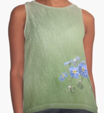 Forget Me Not in the Rain Sleeveless Top