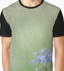 Forget Me Not in the Rain Graphic T-Shirt