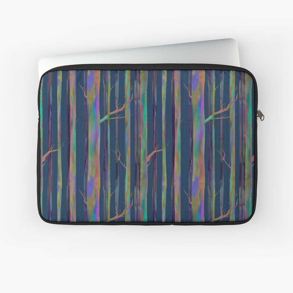 Rainbow Eucalyptus trees Laptop Sleeve
