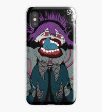 Psycho girl iPhone Case/Skin