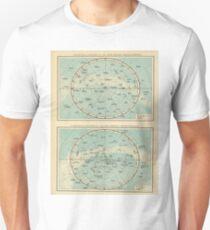 Vintage Sternbildkarte (1895) Slim Fit T-Shirt