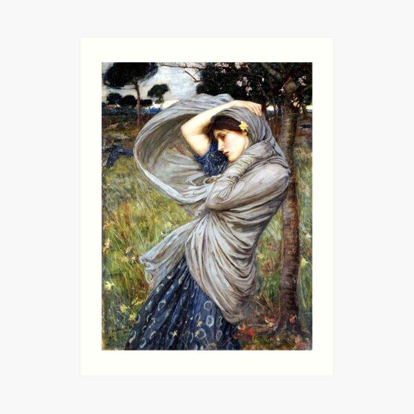 Boreas - John William Waterhouse Art Print