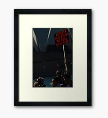 Artists Have Rights Framed Print