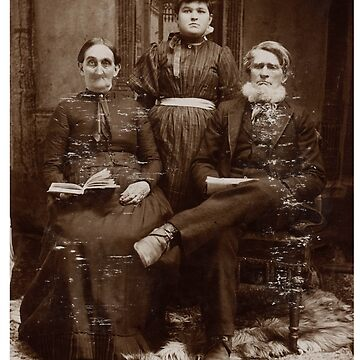Creepy 1800s Family Photo  by nico37