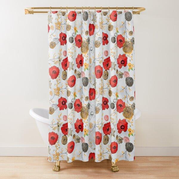Jacque Shower Curtain