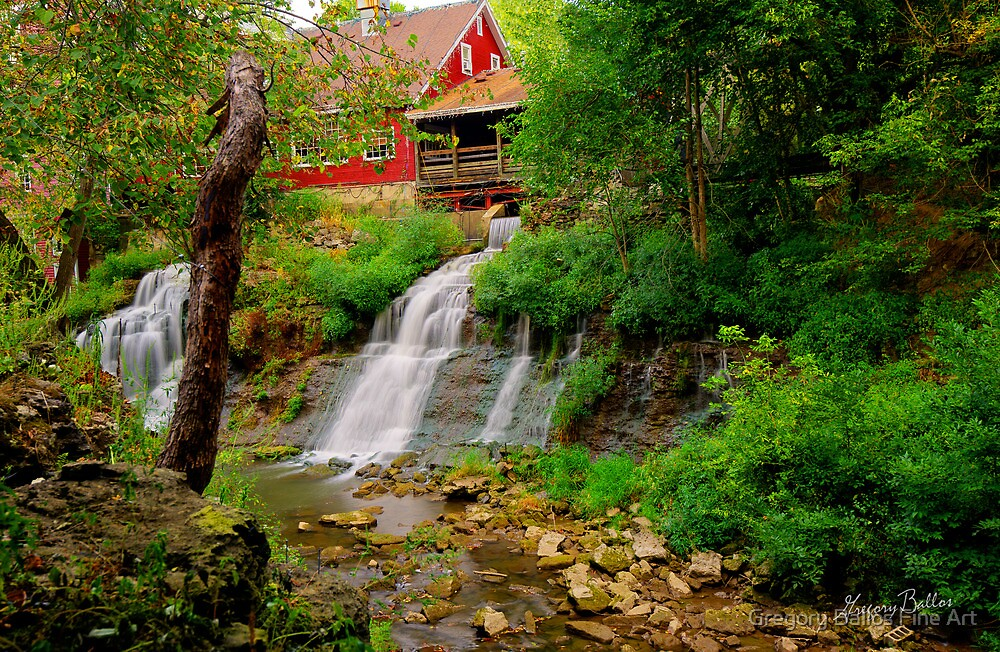 Historic Clifton Mill by Gregory Ballos