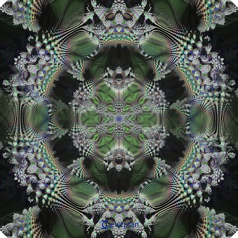 Mandelbrot mandala by Geistplan