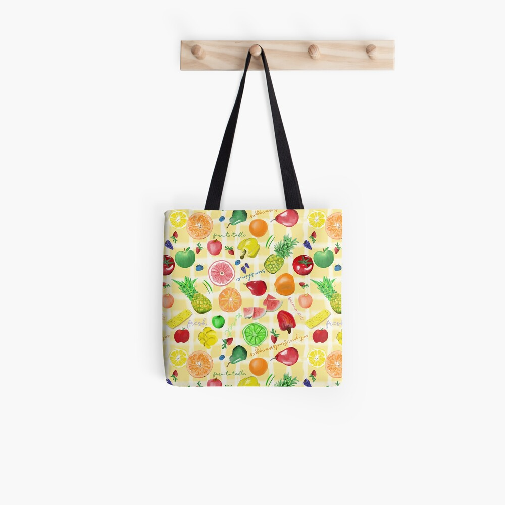 Eat your fruits and veggies! Tote Bag