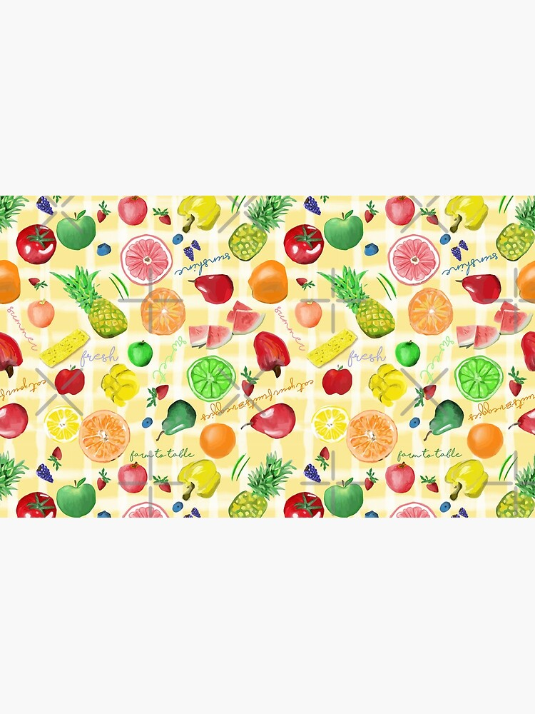 Eat your fruits and veggies! by Stasiajahadi