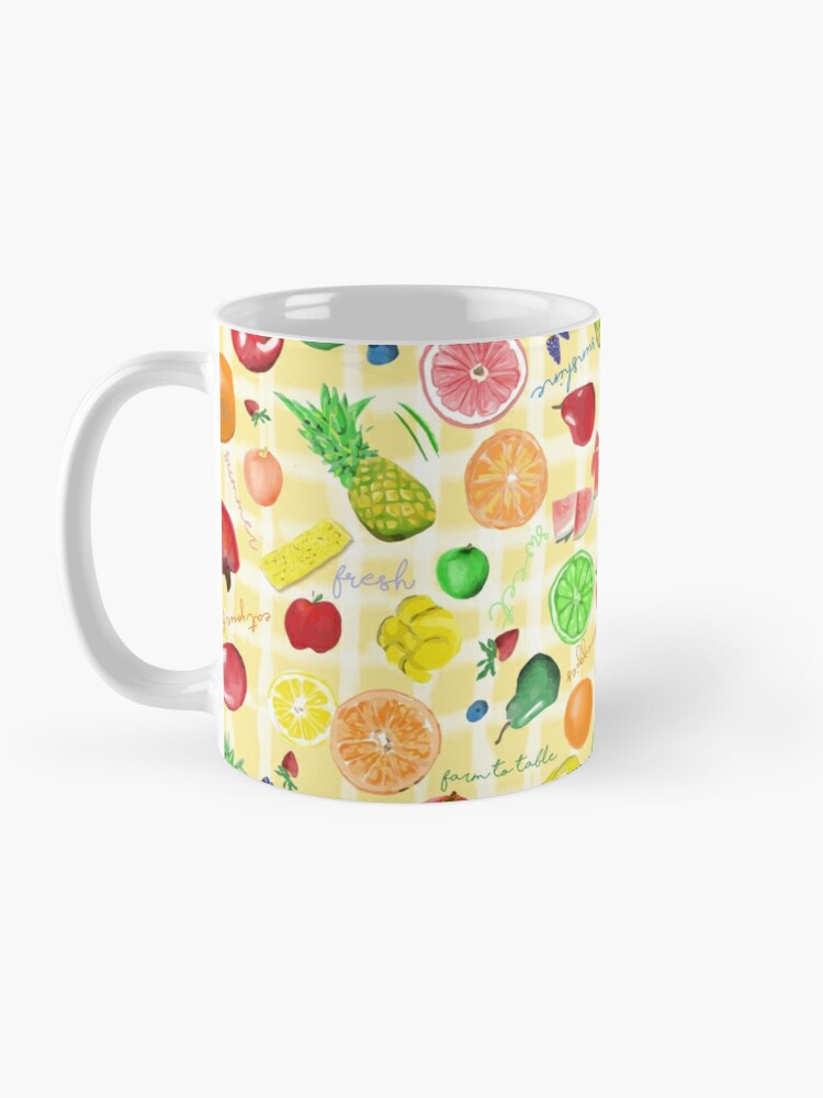 Alternate view of Eat your fruits and veggies! Mug