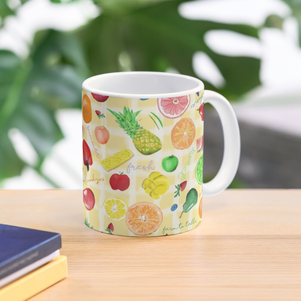 Eat your fruits and veggies! Mug