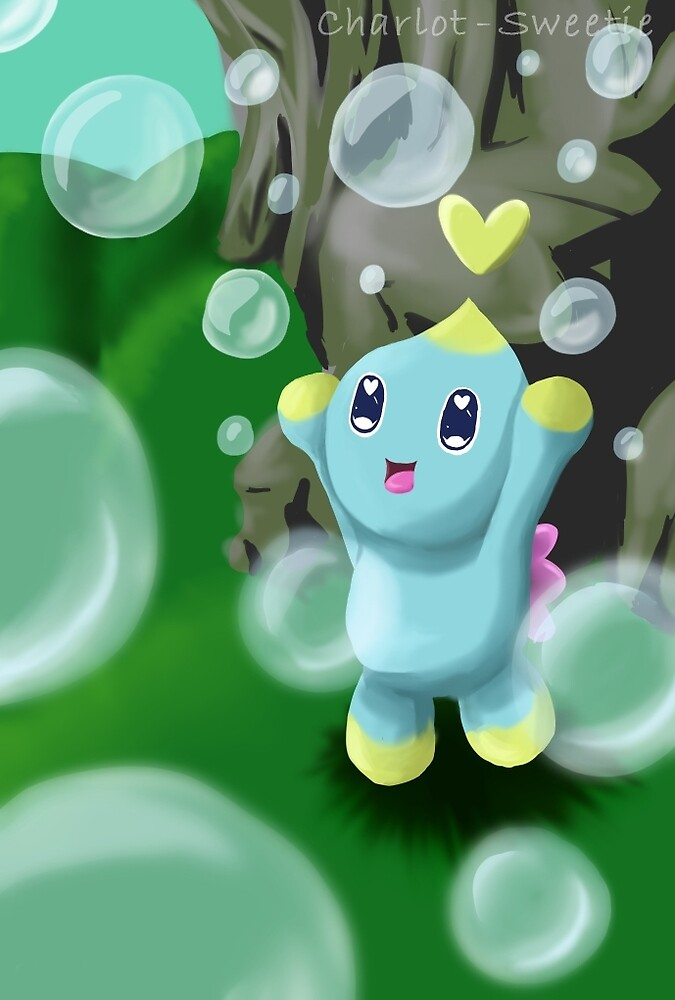 Chao with bubbles by charlot-sweetie