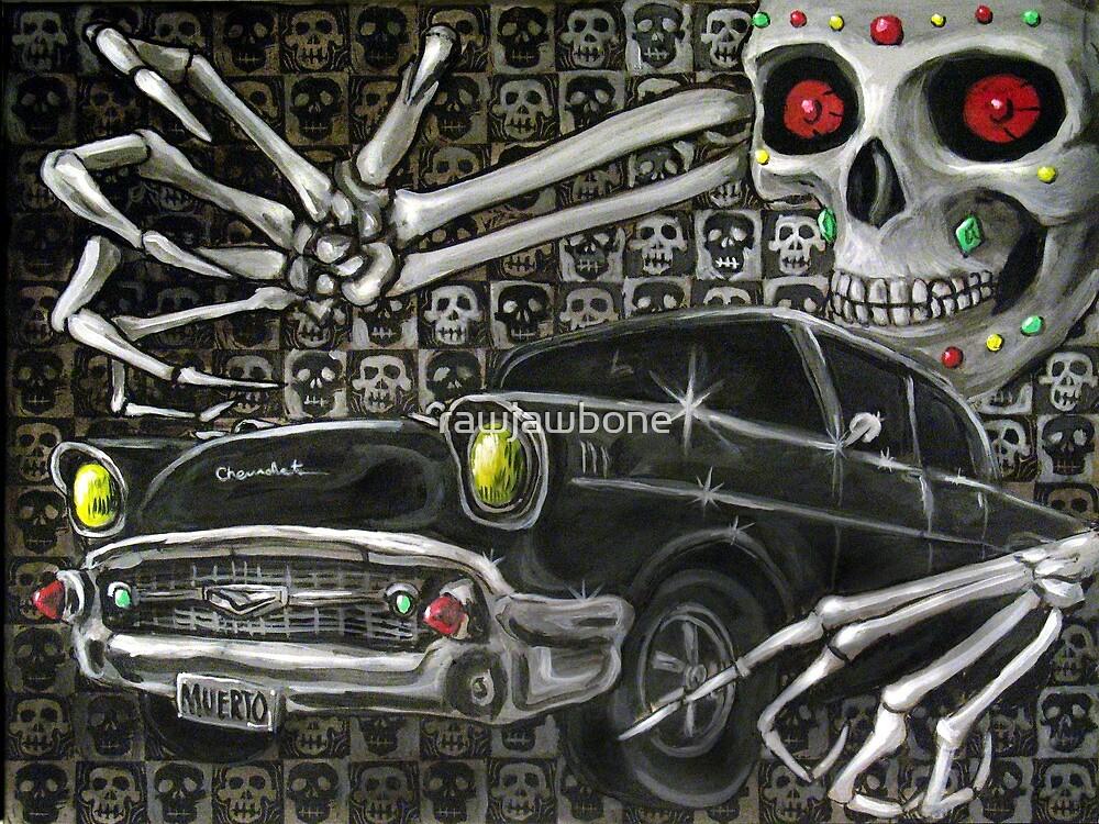 Chevrolet De Muerte-Aztec Classic Car Painting 6 by rawjawbone