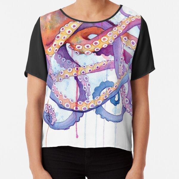 Octopus II Chiffon Top
