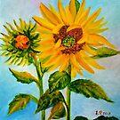Sunflowers by ElenaFineArt