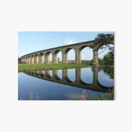 Bridge Over The River Wharfe Art Board Print