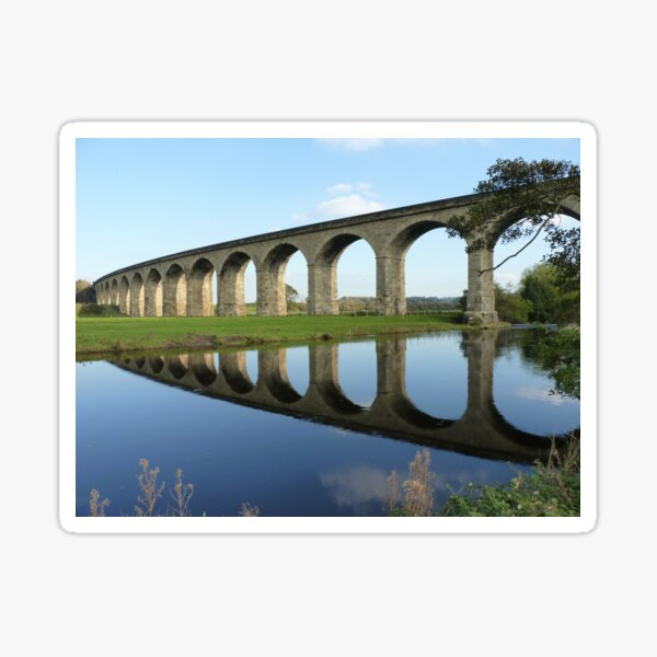Bridge Over The River Wharfe Sticker