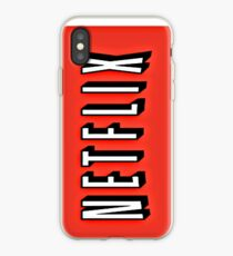 Vinilo o funda para iPhone Netflix case