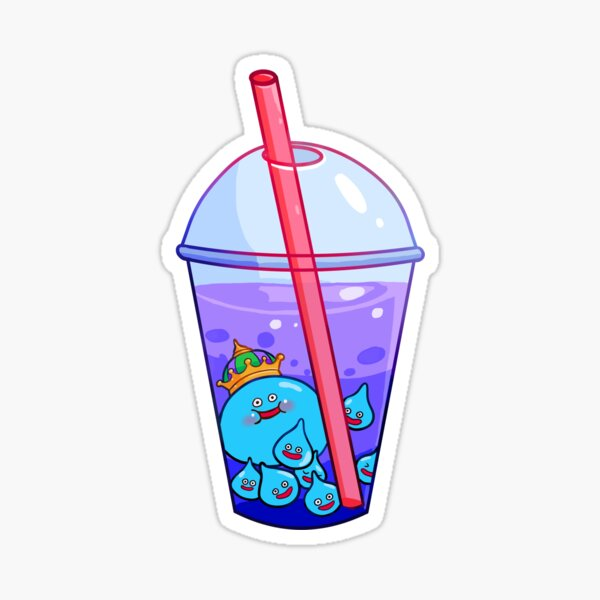 slime tea! Sticker