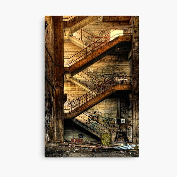 Stairway to Nowhere Canvas Print