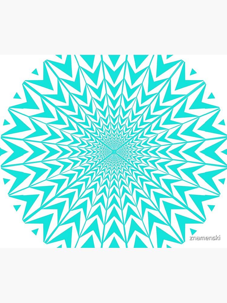 #Design, #abstract, #pattern, #illustration, psychedelic, vortex, modern, art, decoration by znamenski