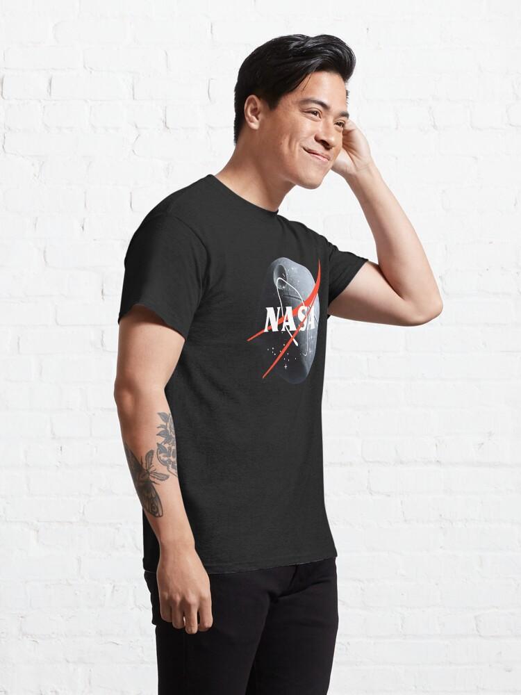 Alternate view of NASA death star Classic T-Shirt