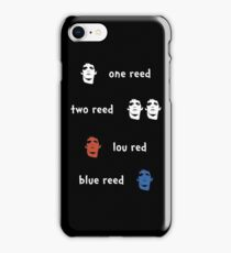 One Reed, two Reed iPhone Case/Skin