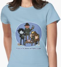 Touch Screen Haters Club Women's Fitted T-Shirt