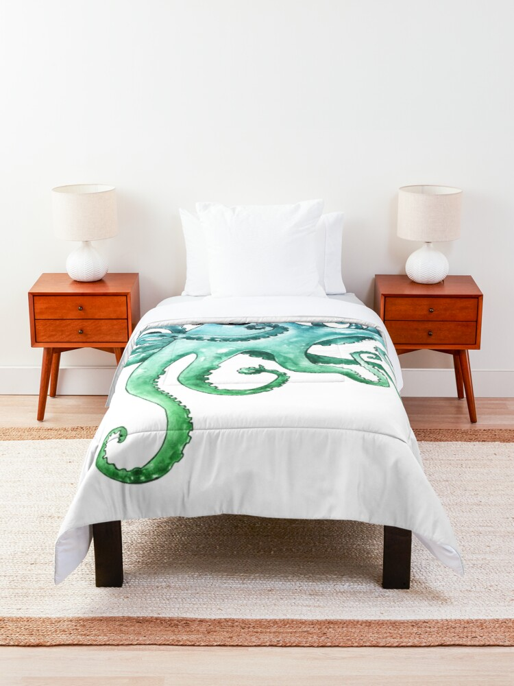Alternate view of Dapper Octopus Comforter