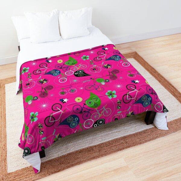 Cycledelic Pink Comforter